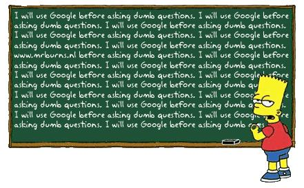 Simpsons google